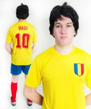 Gheorghe Hagi Romania Football Fancy Dress Costume